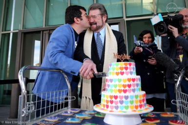 Same Sex Marriage Cake